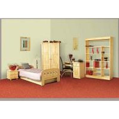 Sypialnia sosnowa