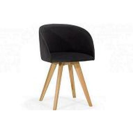 Fotel DIAMOND nogi drewniane