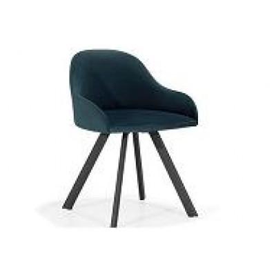 Fotel PERLA nogi metalowe