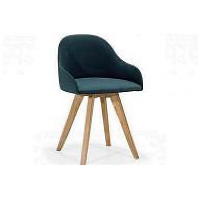 Fotel PERLA nogi drewniane